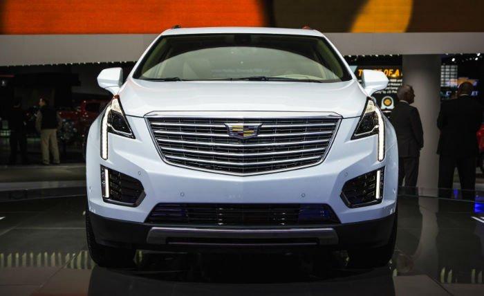 2017 Cadillac SRX Facelift