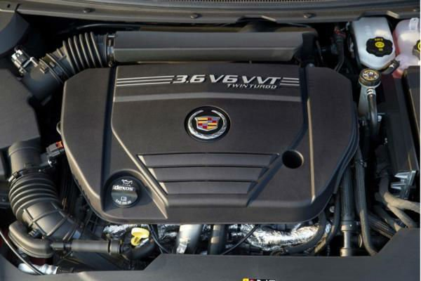 2017 Cadillac XTS Engine