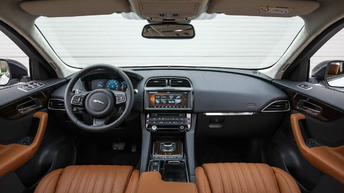 2017 jaguar f pace 20d prestige interior. Black Bedroom Furniture Sets. Home Design Ideas
