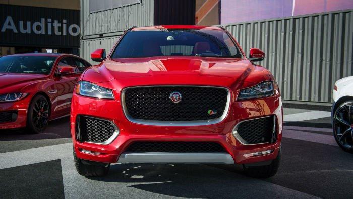 2017 Jaguar F-Pace Facelift