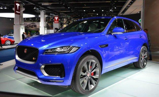 2017 Jaguar F-Pace Model