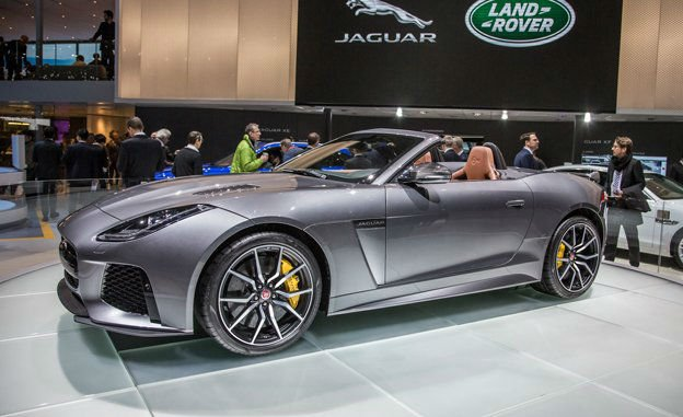 2017 Jaguar F-Type R Convertible