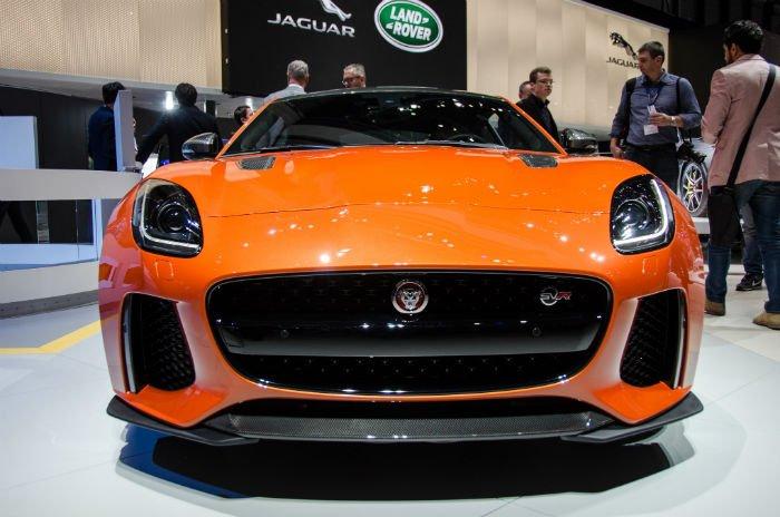 2017 Jaguar F-Type SRV Facelift