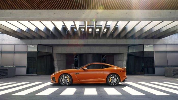 2017 Jaguar F-Type SVR Model
