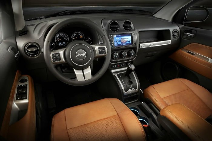 2017 Jeep Compass Dashboard