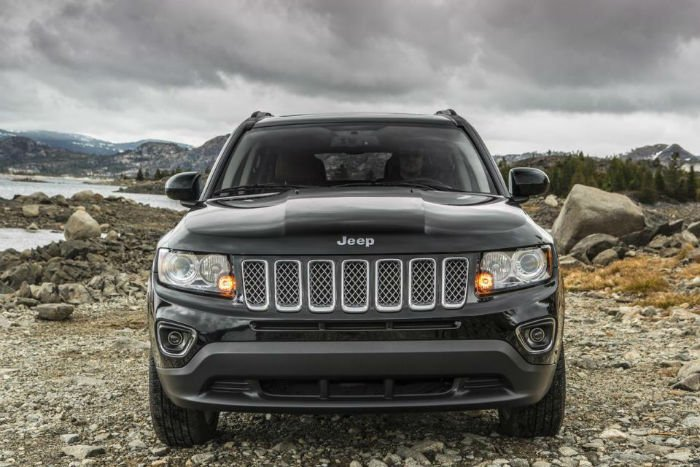 2017 Jeep Compass Facelift