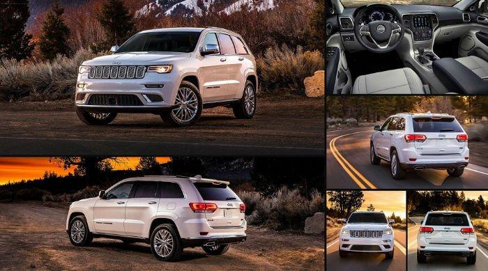 2017 Jeep Grand Cherokee Summit Changes