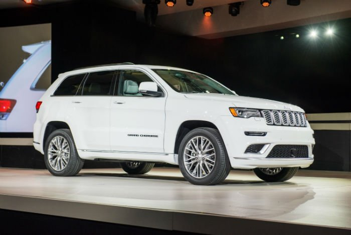 2017 Jeep Grand Cherokee Summit Diesel