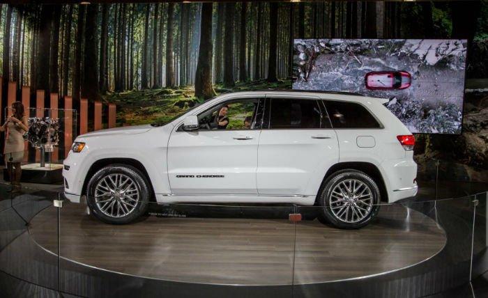 2017 Jeep Grand Cherokee Summit Redesign