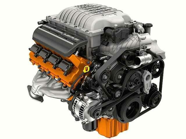 2017 Jeep Grand Cherokee Trackhawk Hellcat Engine