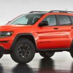 2017 Jeep Grand Cherokee Trackhawk Hellcat Model