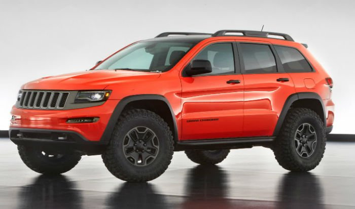 2017 Jeep Grand Cherokee Trackhawk Hellcat Model