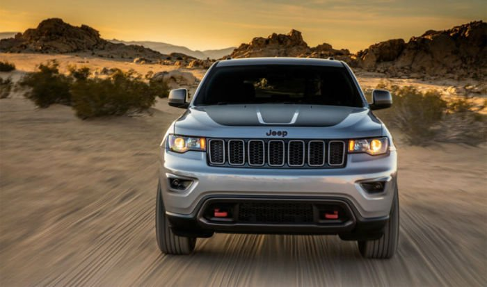 2017 Jeep Grand Cherokee Trailhawk Facelift