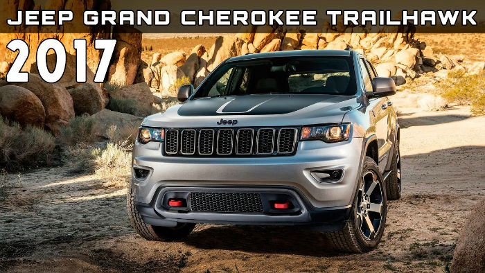 2017 Jeep Grand Cherokee Trailhawk Model