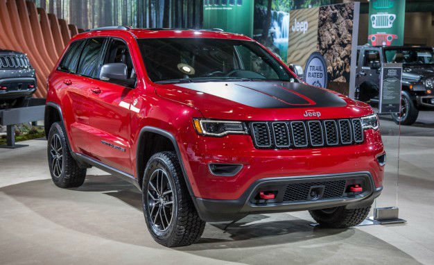 2017 Jeep Grand Cherokee Trailhawk Offroad