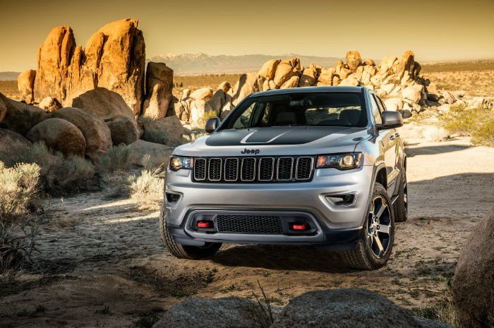 2017 Jeep Grand Cherokee Trailhawk Wallpaper