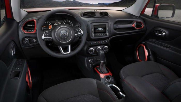 2017 Jeep Renegade Interior