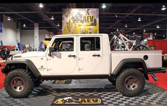 2017 Jeep Scrambler Truck Exterior