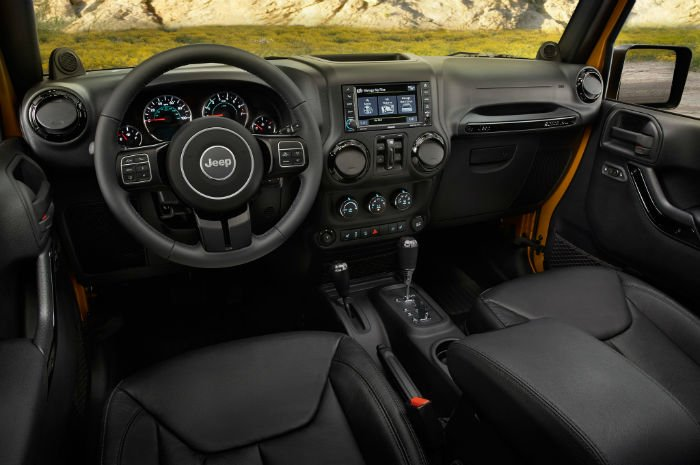 2017 Jeep Wrangler Unlimited Dashboard