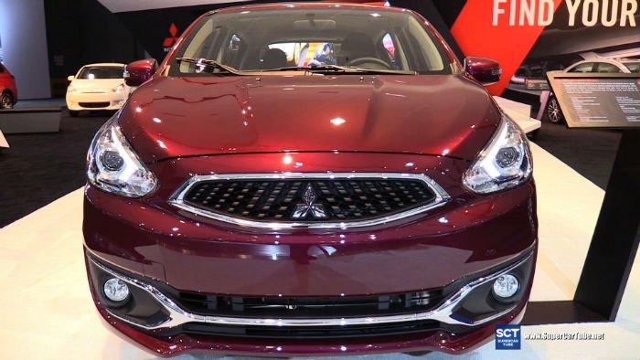 2017 Mitsubishi Mirage GT Facelift