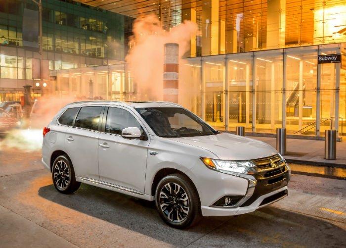 2017 Mitsubishi Outlander Phev Range