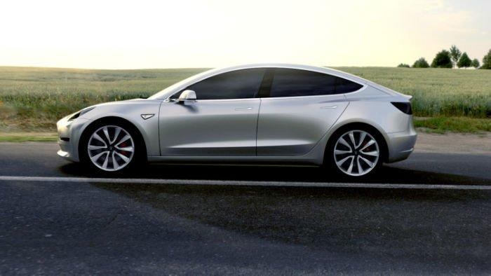 2017 Tesla Model 3 Pictures