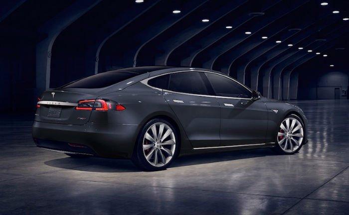 2017 Tesla Model S Black