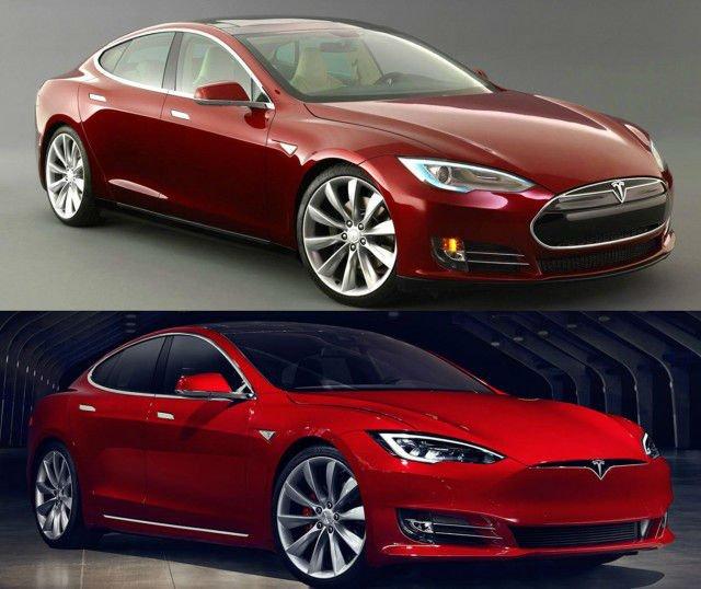 2017 Tesla Model S Changes
