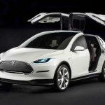 2017 Tesla Model X Doors
