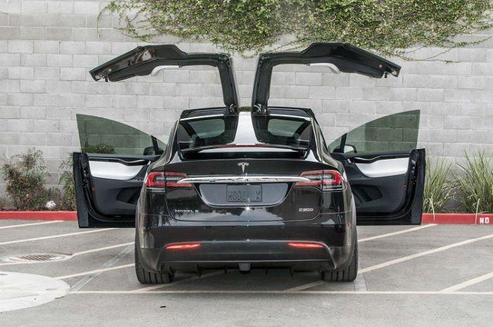 2017 Tesla Model X Exhaust