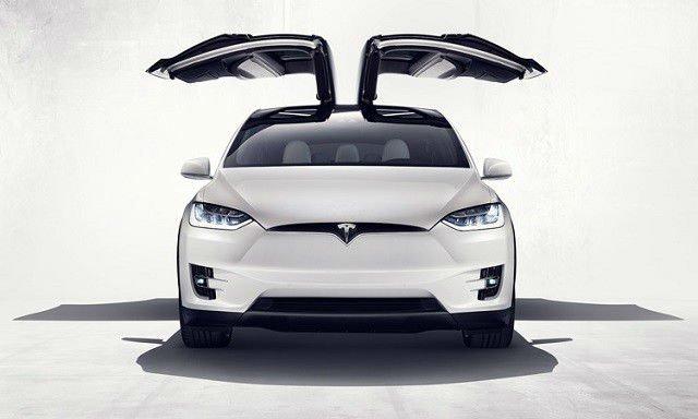 2017 Tesla Model X Facelift