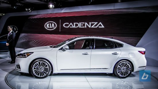 2017 Kia Cadenza New York