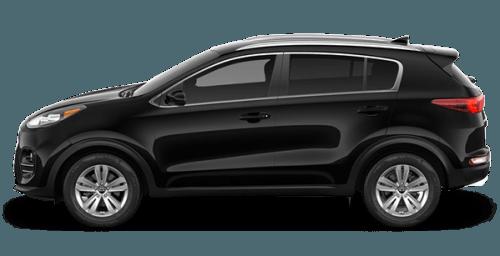 2017 Kia Sportage Black
