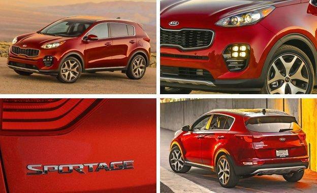 2017 Kia Sportage LX Changes