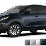 2017 Kia Sportage LX Colors