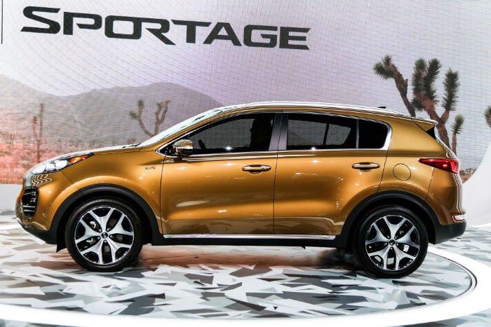2017 Kia Sportage Model