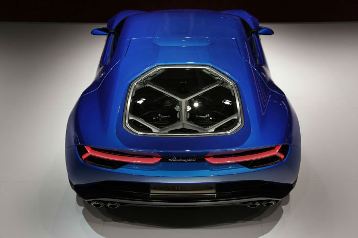 2017 Lamborghini Asterion Engine