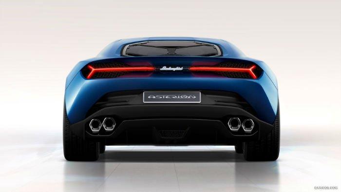 2017 Lamborghini Asterion Exhaust