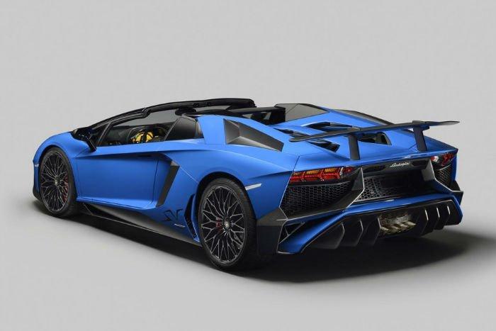 2017 Lamborghini Aventador Exhaust