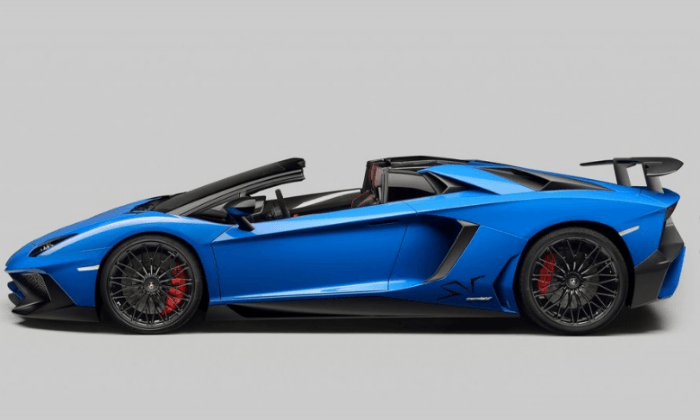2017 Lamborghini Aventador LP750-4 SuperVeloce Exterior