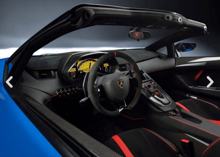 2017 Lamborghini Aventador LP750-4 SuperVeloce Interior