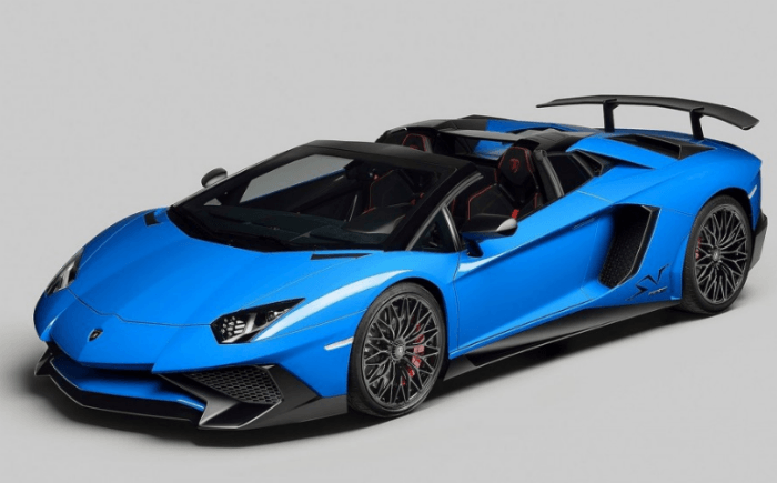 2017 Lamborghini Aventador LP750-4 SuperVeloce Model
