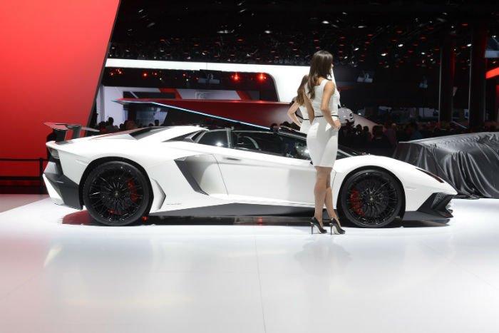 2017 Lamborghini Aventador Model