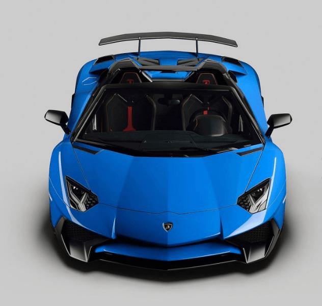 2017 Lamborghini Aventador SuperVeloce Roadster