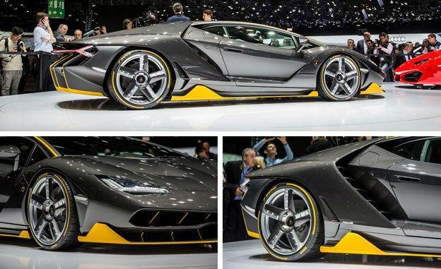 2017 Lamborghini Centenario Changes