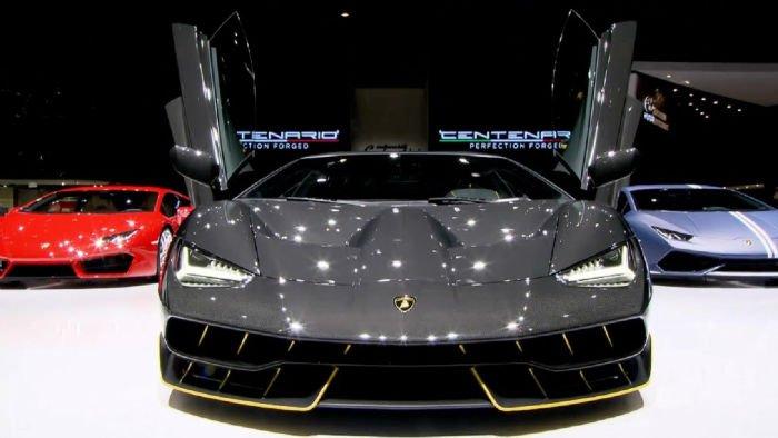 2017 Lamborghini Centenario Facelift
