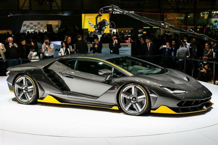 2017 Lamborghini Centenario Model
