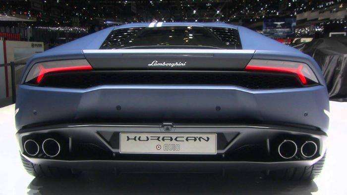 2017 Lamborghini Huracan LP 610-4 Exhaust