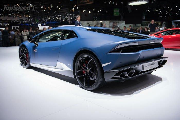2017 Lamborghini Huracan LP 610-4 Exterior