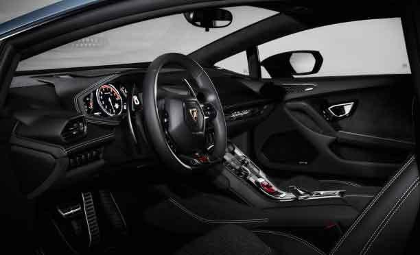 2017 Lamborghini Huracan LP 610-4 Interior
